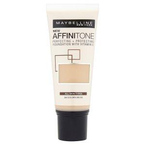 Maybelline Affinitone hydratační make-up 30ml, vybrané druhy