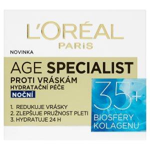 L'Oréal Paris Age Specialist Hydratační noční péče proti vráskám 50ml