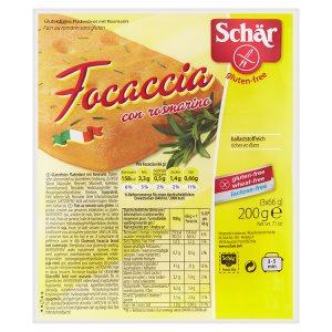 Schär Focaccia pečivo s rozmarýnem bez lepku 200g