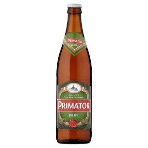PRIMÁTOR Světlý světlé výčepní pivo 0,5l