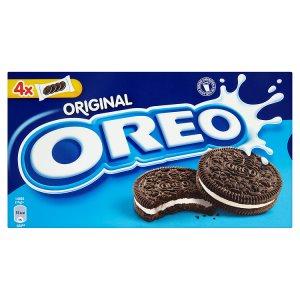Oreo sušenky 176g, vybrané druhy