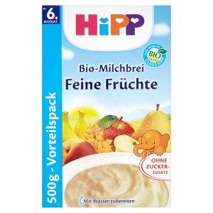 HiPP Bio mléčnoobilná kaše 500g, vybrané druhy