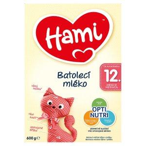 Hami Batolecí mléko 12+ 600g