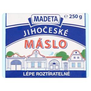 Madeta Jihočeské máslo 250g