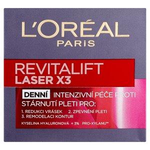 L\'Oréal Paris Revitalift Laser X3 krém 50ml, vybrané druhy