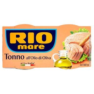 Rio Mare Tuňák 2 x 160g, vybrané druhy
