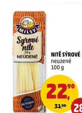 Nitě sýrové, 100 g