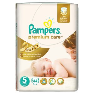 Pampers Premium Care Pleny 5 Junior 44 ks Tesco