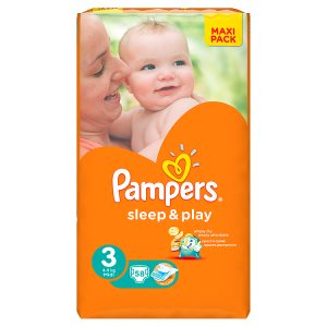 Pampers Sleep&Play Pleny 3 Midi 58 ks Terno