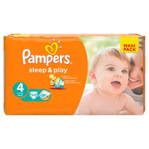 Pampers Sleep&Play Pleny 4 Maxi 50 ks Albert
