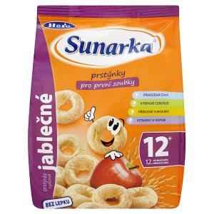 Sunarka Prstýnky s jablečnou příchutí pro první zoubky 50g Dm Drogerie Markt