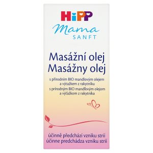 HiPP Mamasanft Masážní olej 100ml Rossmann