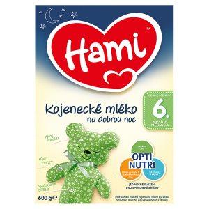 Hami Kojenecké mléko na dobrou noc 6+ 600g Rossmann