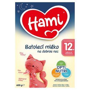 Hami Batolecí mléko na dobrou noc 12+ 600g Tesco