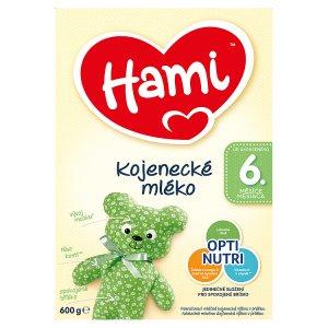Hami Kojenecké mléko 6+ 600g Tesco